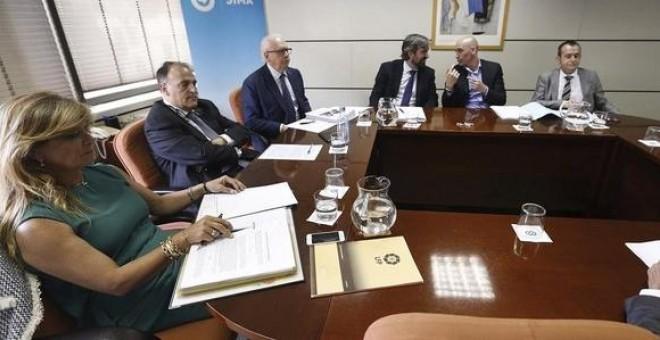 Una reunión entre la LFP y la AFE en el SIMA, que se saldó sin acuerdo. /EFE
