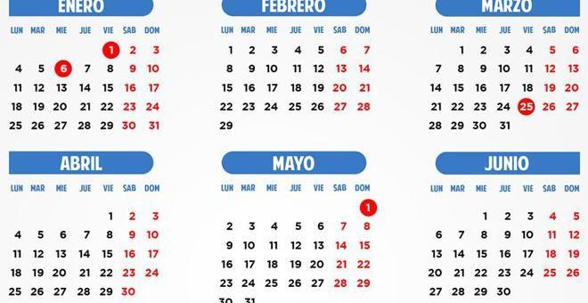 Calendario Laboral Espana.Asi Es El Calendario Laboral De 2016 Doce Fiestas Por Comunidad Y