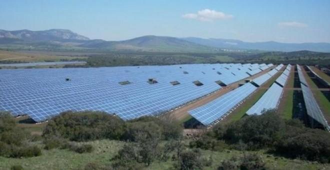 Paneles solares de Renovalia en Puertollano.