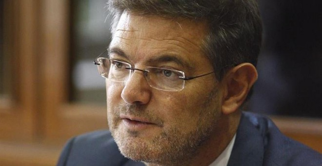 El ministro de Justicia, Rafael Catalá.- EUROPA PRESS.