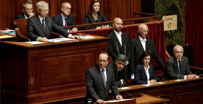 Directo: Hollande pide al Parlamento francés un cambio constitucional contra 'el terrorismo de guerra'