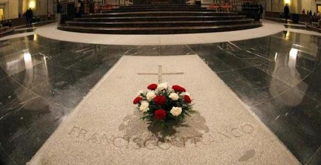 Tumba de Francisco Franco en el Valle de los Caídos.- EFE