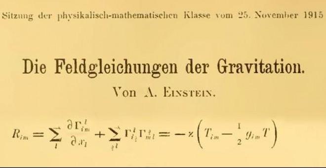 Diez preguntas para entender la teoría de la relatividad general de  Einstein | Público