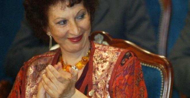 Fatima Mernissi. EFE