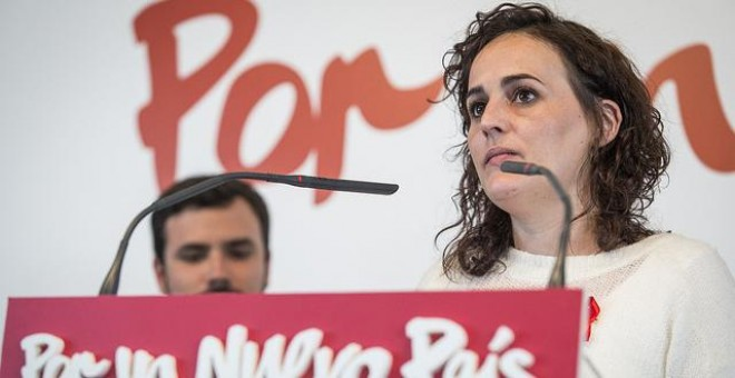 La directora de campaña de Alberto Garzón, Clara Alonso.- IU/JOSÉ CAMÓ