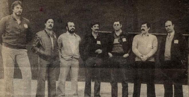 Comité Ejecutivo del SUP en la clandestinidad.