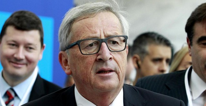 Juncker quiere lo antes posible un 'gobierno estable' en España./EUROPA PRESS