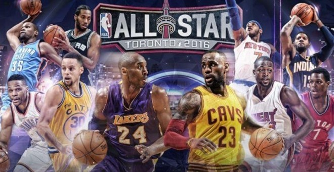 Cartel del All-Star 2016.