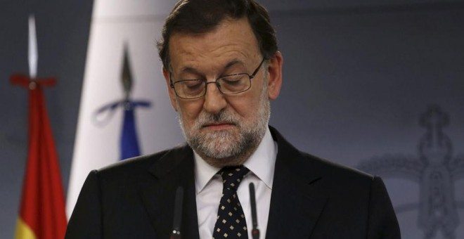Mariano Rajoy, durante su comparecencia de este viernes.