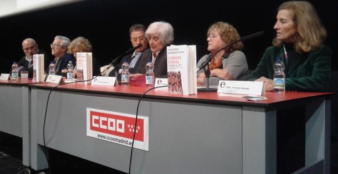 Presentación de 'La matanza de Atocha' en de la sede de CCOO de Madrid