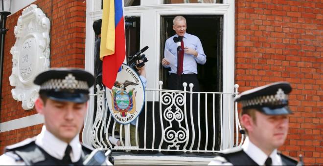 El fundador de Wikileaks, Julian Assange, en una fotografía de agosto de 2012. - REUTERS