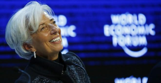 Imagen de archivo de la directora del Fondo Monetario Internacional, Christine Lagarde. REUTERS/Ruben Sprich/Files