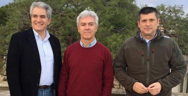 Ruiz Puerta , Armengol y Ripoll en Tarragona.