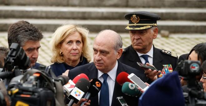 El ministro del Interior en Funciones, Jorge Fernández Díaz. EFE