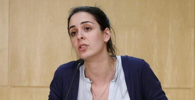 La portavoz del Ayuntamiento de Madrid, Rita Maestre. EFE