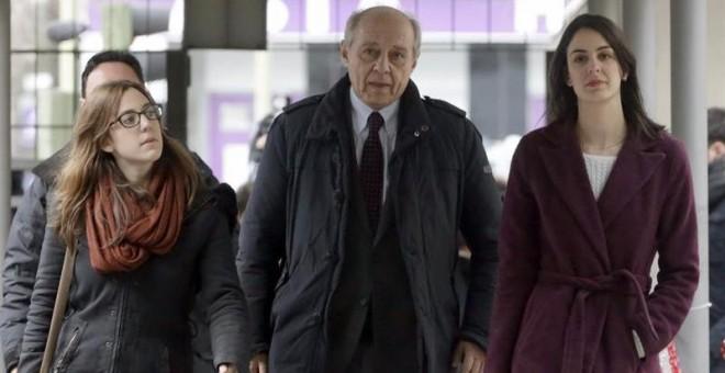 Rita Maestre, a su llegada al juzgado. / EFE