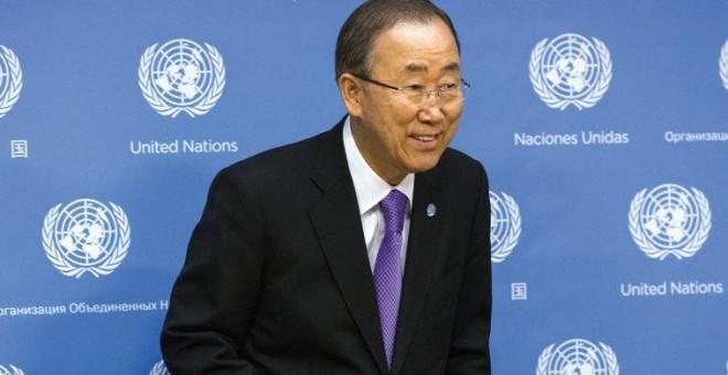 El secretario general de la Organización de las Naciones Unidas (ONU), Ban Ki-moon. REUTERS