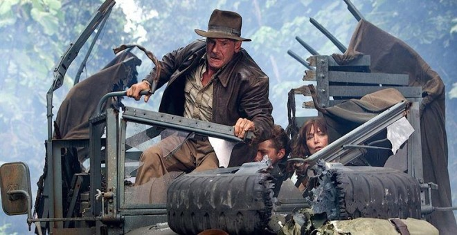 Harrison Ford en 'Indiana Jones'. PARAMOUNT PICTURES/LUCASFILM