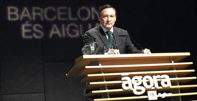 El presidente de Agbar, Àngel Simon. EUROPA PRESS.