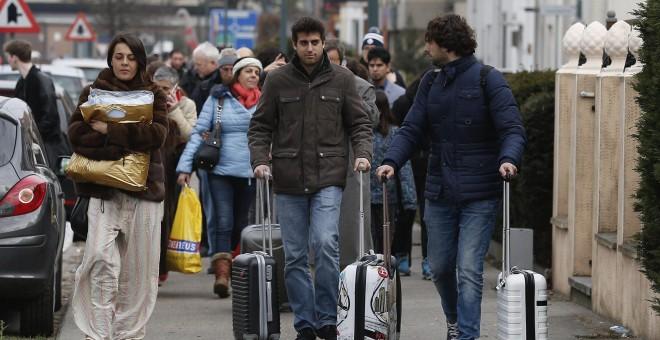 Despega el primer avión tras el atentado en el aeropuerto de Bruselas