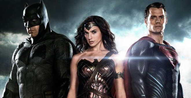 Batman, Wonderwoman y Superman se unen en la nueva superproducción de Warner.