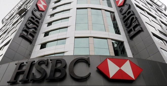 Sede del HSBC, el mayor banco británico, en Londres. REUTERS