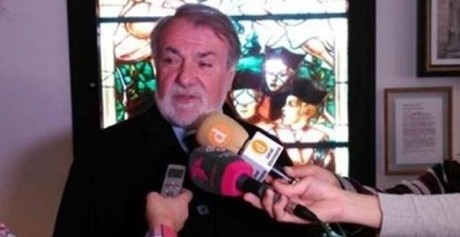 El exministro Jaime Mayor Oreja, en Toledo.