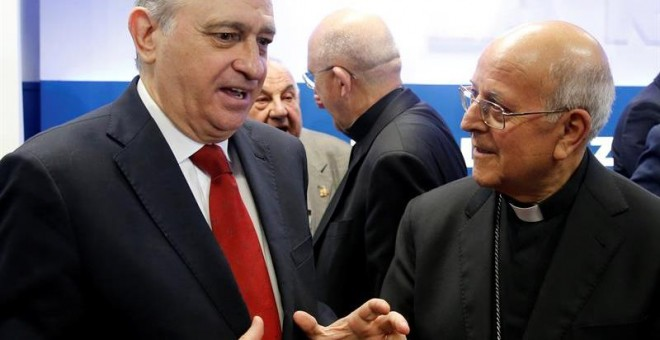 Fernández Díaz y Ricardo Blázquez, hace unos días. EFE/Mariscal
