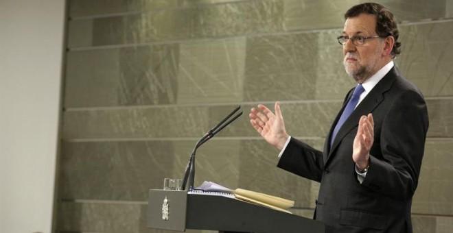 El presidente del Gobierno en funciones, Mariano Rajoy. - EFE