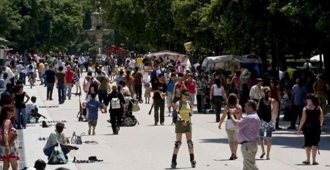 En España habitan 46,5 millones de personas. EFE