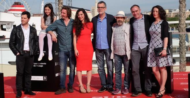 Presentación de la película 'Cerca de casa' en el Festival de Málaga