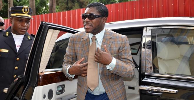 Teodoro Nguema Obiang, 'Teodorín', en una fotografía de junio de 2013. - AFP