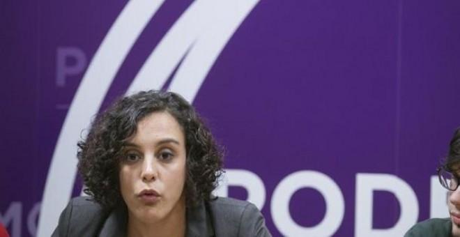 Nagua Alba, recientemente elegida secretaria general de Podemos Ahal Dugu. EFE