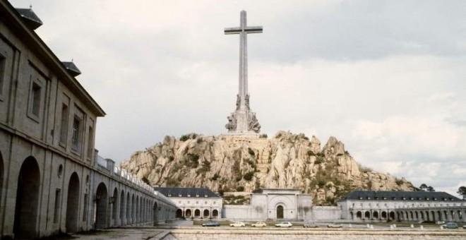 El Valle de los Caídos, en el interior de cuya basílica descansan los restos de más de 33.400 víctimas de la Guerra Civil. EFE