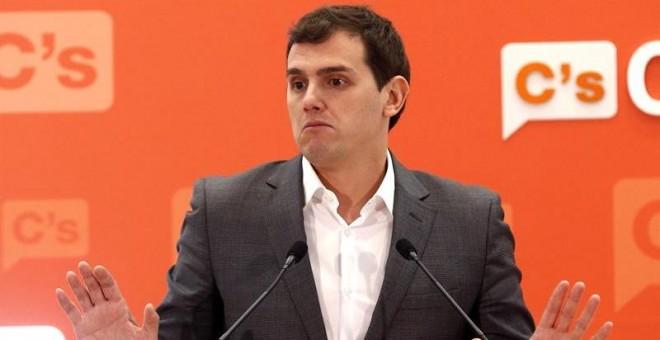 El líder de Ciudadanos, Albert Rivera. EFE/Paco Campos