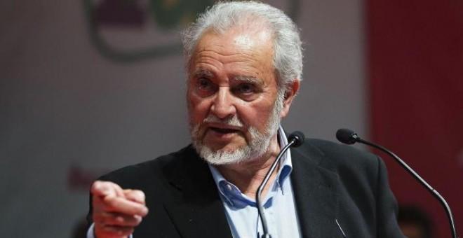 El exlíder de Izquierda Unida, Julio Anguita. EFE