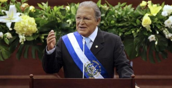 Salvador Sánchez Cerén, presidente de El Salvador. REUTERS
