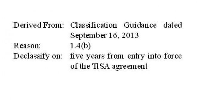Detalle de uno de los documentos filtrados por WikiLeaks.