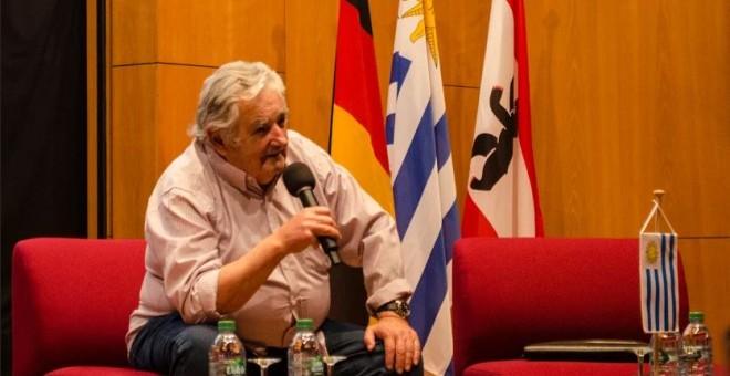 """José Mujica: """"Unidos Podemos es un grito desesperado en una generación con todos los caminos cerrados"""". /LAURA CRUZ"""