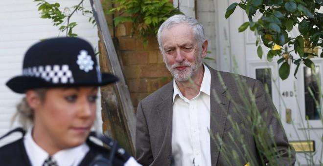 El líder de Partido Laborista británico, Jeremy Corbyn.- REUTERS
