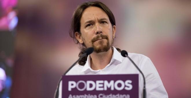 El líder de Podemos, Pablo Iglesias. (EFE)