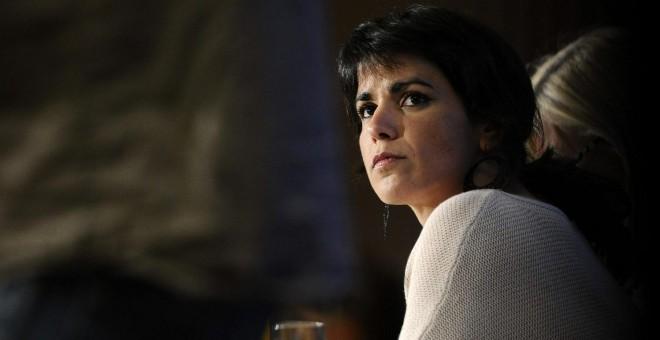 La secretaria general de Podemos Andalucía, Teresa Rodríguez. EFE.