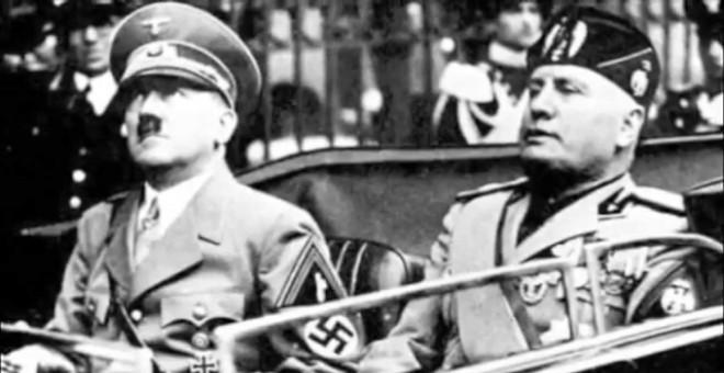 Adolf Hitler y Benito Mussolini prestaron dinero a los franquistas para que ganaran la Guerra Civil