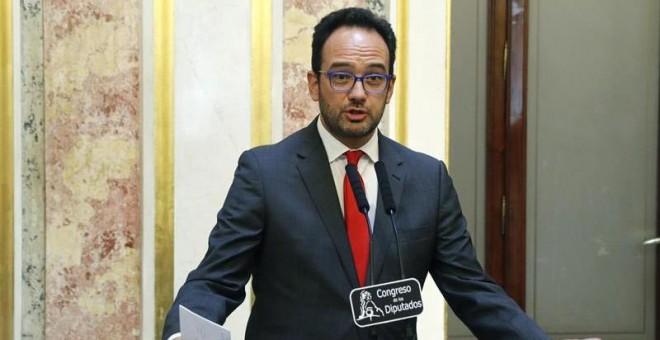 Antonio Hernando, del PSOE. / EFE