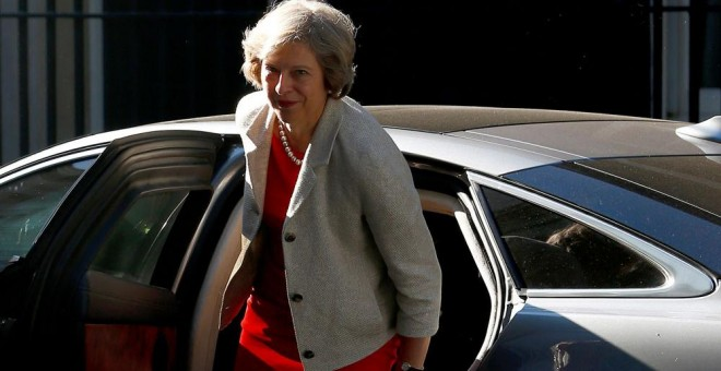 La primera ministra británica, Theresa May. REUTERS