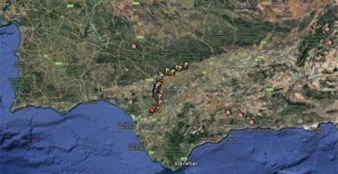 El portal de rutas de senderismo y de bicicleta Wikiloc incluye el recorrido completo de los 180 km del Canal de los presos con tramos que se pueden realizar a pie, en bici o en coche