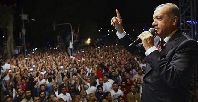El presidente turco Erdogan