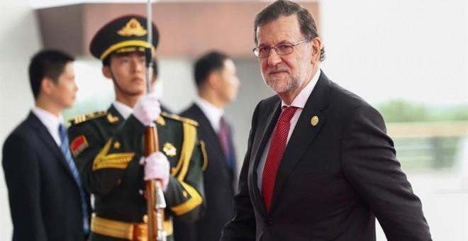 Rajoy señala en el G20 al 'populismo' como el gran enemigo de los recortes. /EFE