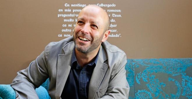 El candidato de En Marea, Luis Villares.- MANUEL MARRAS