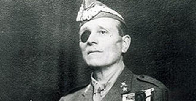 El fundador de la Legión y jefe de Prensa y Propaganda de la dictadura franquista José Millán Astray